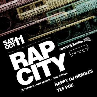Rap City: LIVE from Blank Space (hosted by Tef Poe) - Sat Oct 11