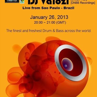 DJ Valozi from Brazil live at Innersence Radio DNB (UK) - 26.01.2013