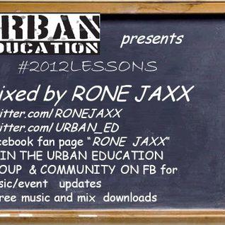 RONE JAXX 2012LESSONS MIX