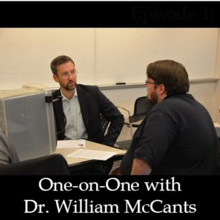 One-on-One with Dr. William McCants