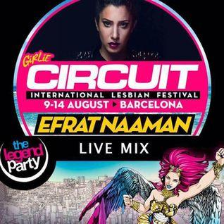 Efrat Naaman - Girlie Circuit Barcelona 2016 @ The Legend Party (second hour)