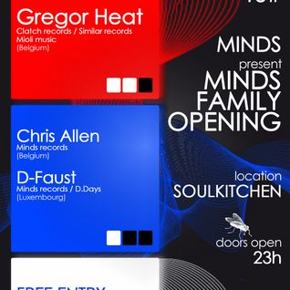 Gregor Heat @ Minds Family Soulkitchen 2012-10-13 Part1