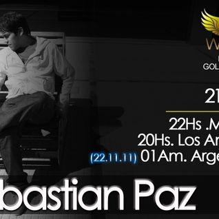 Seba Paz @ Golden Wings RadioShow (Noviembre 2011)