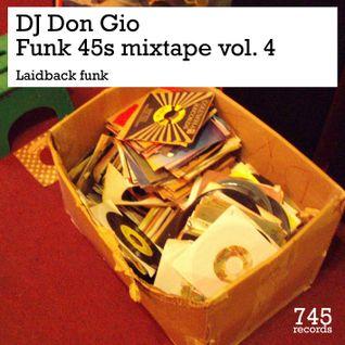 Funk 45s mixtape vol. 4 - Laidback funk