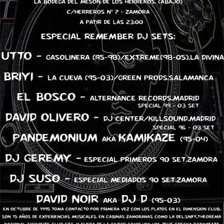 "David Noir - Special 15 aniversary dj (mix recorded at ""Mesón Herreros"",Zamora 16-10-2011)"