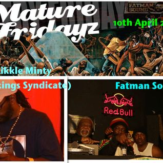 Fatman Sound meets Likkle Minty(Peckings Syndicate) april 2015