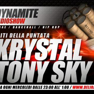 DYNAMITE radio show ospiti   KRYSTAL & TONY SKY   www.deliradio.it