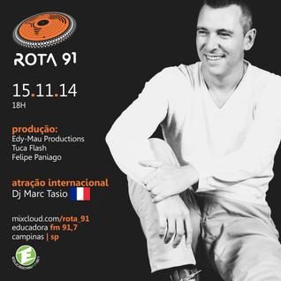 Rota 91 - 15/11/14 - Educadora FM