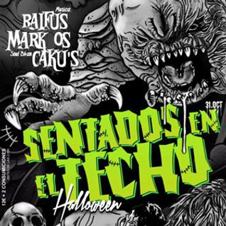 Mark Os SoulBahn plays DeepHouse 4 Sentados en el Techo - Halloween 2012 part 1