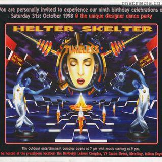 DJ SY Helter Skelter 'Timeless' 31st Oct 1998