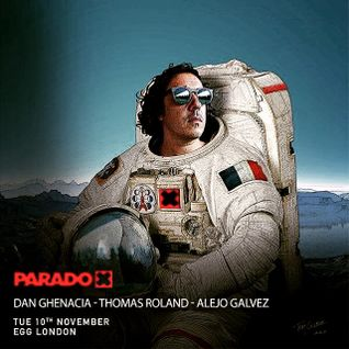 Alejo Galvez live at Egg Club london warm up set for Dan Ghenacia (Paradox)10.11.15