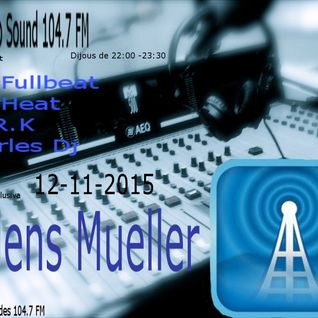 techno sound present, Jens Mueller , exclusive set techno sound 104.7 fm