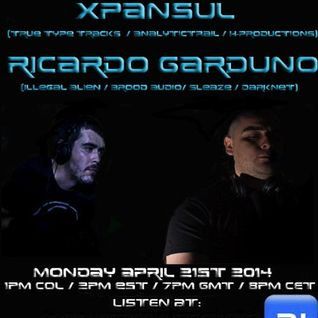 The Future Underground Show With Xpansul, Ricardo Garduno And Nick Bowman