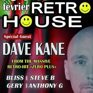 """Dave Kane Live @ Club 386 """"RETRO HOUSE"""" 04-02-2012"""