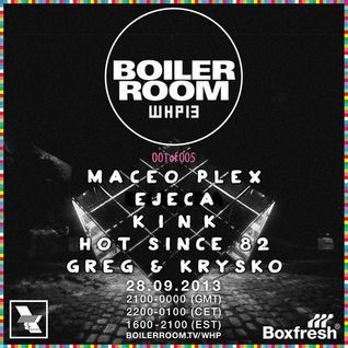 Maceo Plex - Boiler Room Dj Set (Live @ The Warehouse Project Manchester) 2013.09.28.