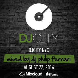 DJ Philip Ferrari - Friday Fix - August 22, 2014