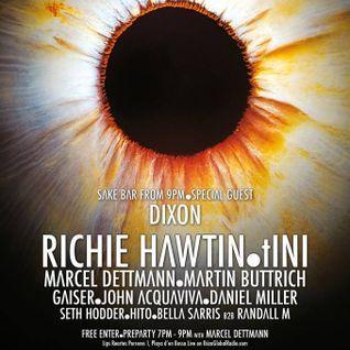 Marcel Dettmann - Live At Enter.Main Week 04, Space (Ibiza) - 24-Jul-2014