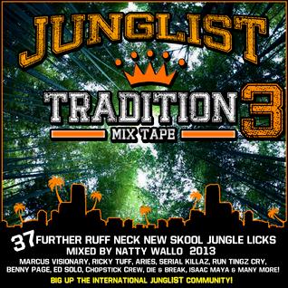 DJ NATTY WALLO - JUNGLIST TRADITION VOL 3 (2013)