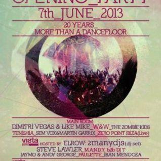 DJ T b2b M.A.N.D.Y @ Privilege Opening Party - Ibiza (07-06-2013)