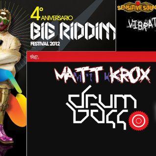 MATT KROX DNB SESION 2012 @ BIG RIDDIM FESTIVAL 4º ANIV.