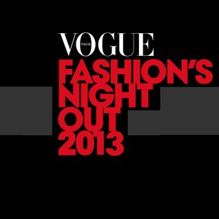 GIOVANNI URSOLEO @ Set VOGUE Fashion's Night Out September 2013 Milan