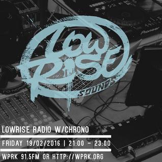 LowRise Radio w/Chrono 19/02/2016