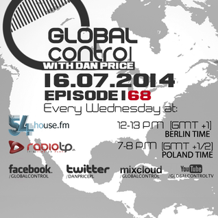 Dan Price - Global Control Episode 168 (16.07.14)
