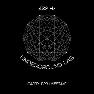DJ MISSTAKE B2B GAFER - DEEP TECHNO ELECTRONICA LIVE MIX FOR 432HZ