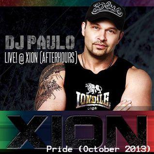 DJ PAULO LIVE ! XION (AFTERHOURS) Atlanta Oct 2013