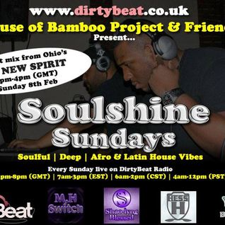 House Of Bamboo Soul Shine Sundays DJ NSP Feb 2015