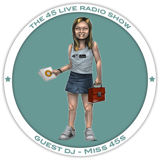 45 Live Radio Show with guest DJ MISS 45s