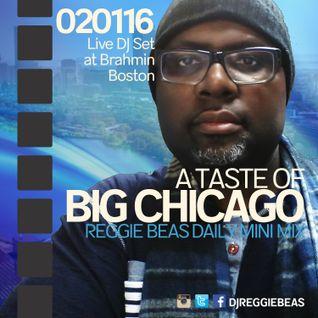 A Taste Of Big Chicago (Live at Brahmin–Boston)-February 1st, 2016