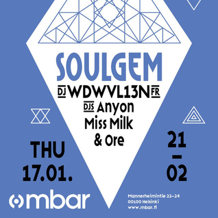 Live at Soulgem, mbar 17.1.2013