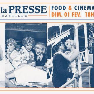 Food & Cinema #5 by ATN @ Cafe de la Presse (01-02-15)