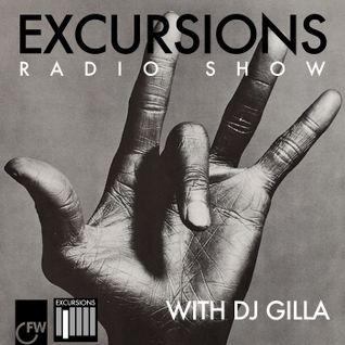 Excursions Radio Show #20 with DJ Gilla - June 2013