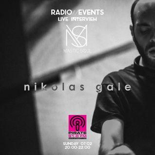 Interview Nikolas Gale For Pirate Fm 91 [Mastic Soul Radio]