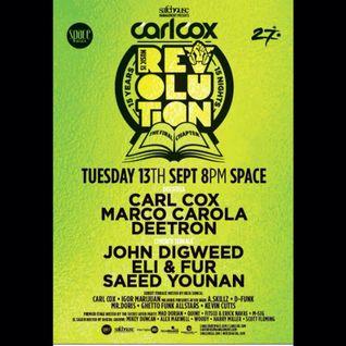 Space Ibiza Final Chapter w/Carl Cox Week 14 - Saeed Younan