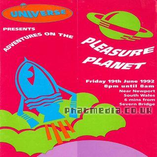 Universe 1992 SASHA @ Pleasure Planet