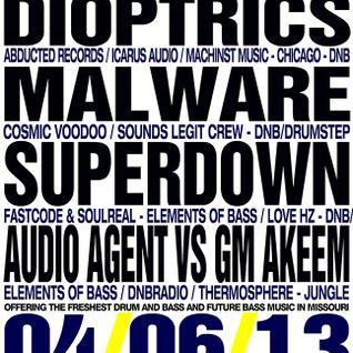 Kit - Live @ Bass & Bliss 04/06/13