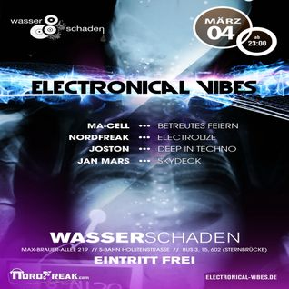 2016.03.04 - electronical vibes club with NordFreak, Ma-Cell, Jan-Mars, Joston