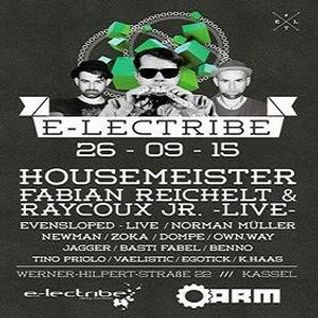 Norman @ e-lectribe - A.R.M. Kassel - 26.09.2015 - Part 1