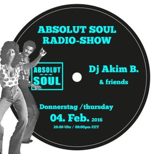 Absolut Soul Show /// 04.02.2016 on SOULPOWERfm