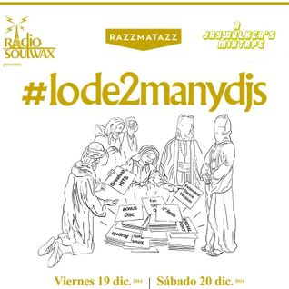 #lode2manydjs mixtape (white edition)