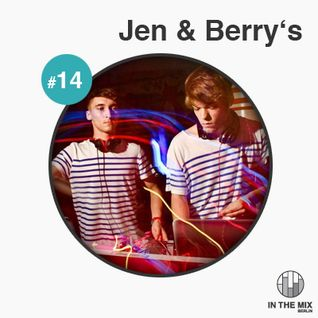 """ in the mix "" with Jen & Berry's"