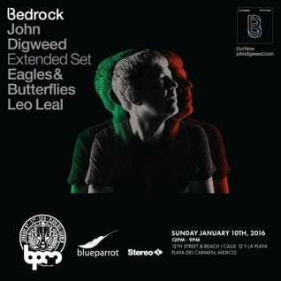 Leo Leal - Live at Bedrock Records, Blue Parrot Beach Club, The BPM Festival 2016 (10-01-2016)