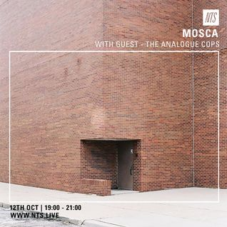 Mosca & The Analogue Cops - 12th October 2016