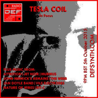Doncaster Electronic Foundation Radio - Tesla Coil In Focus
