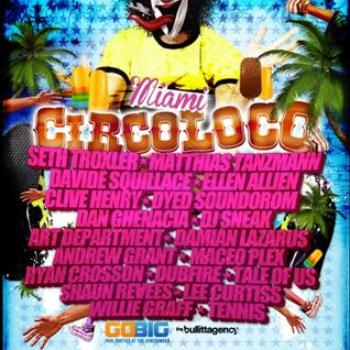 Art Department - CircoLoco, Surfcomber Miami, WMC 2012 (Miami, USA) - 22.03.2012
