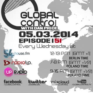Dan Price - Global Control Episode 151 (05.03.14)