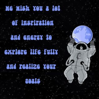Gagarin Project - We wish you a lot of inspiration and energy to fully explore life